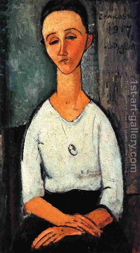 Chakoska by Amedeo Modigliani - Reproduction Oil Painting