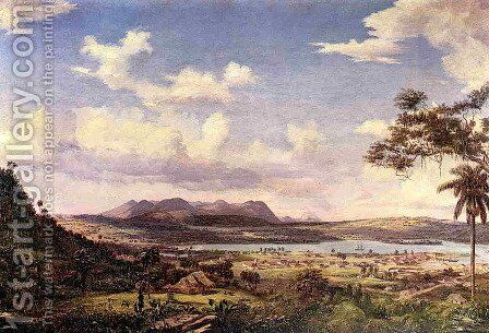 The Bay of Matanzas, Cuba by Charles DeWolf Brownell - Reproduction Oil Painting