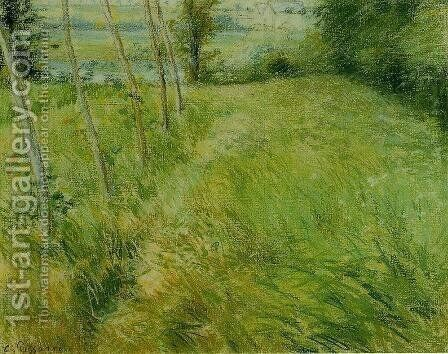 Landscape at Pontoise I by Camille Pissarro - Reproduction Oil Painting