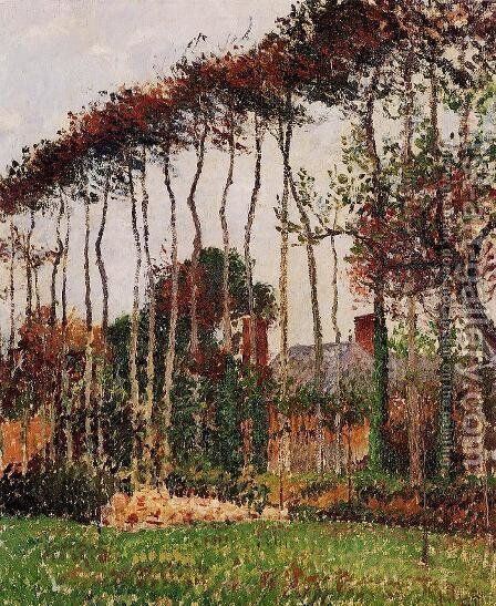 Landscape at Varengeville by Camille Pissarro - Reproduction Oil Painting