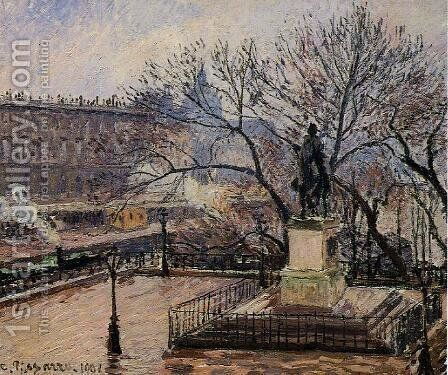 The Raised Tarrace of the Pont-Neuf and Statue of Henri IV by Camille Pissarro - Reproduction Oil Painting