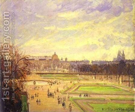 The Tuileries Gardens I by Camille Pissarro - Reproduction Oil Painting