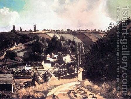 Jalais Hill by Camille Pissarro - Reproduction Oil Painting