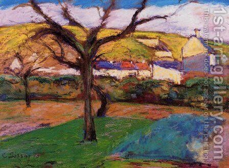 Landscape by Camille Pissarro - Reproduction Oil Painting