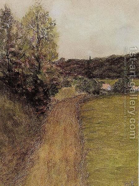Landscape II by Camille Pissarro - Reproduction Oil Painting