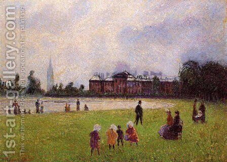Kensington Gardens, London by Camille Pissarro - Reproduction Oil Painting