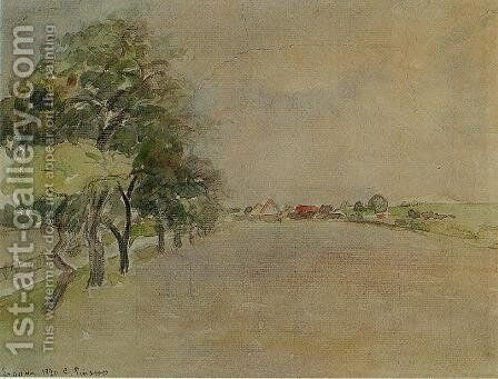 Eragny by Camille Pissarro - Reproduction Oil Painting
