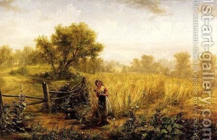 Pastoral by Jerome B. Thompson - Reproduction Oil Painting