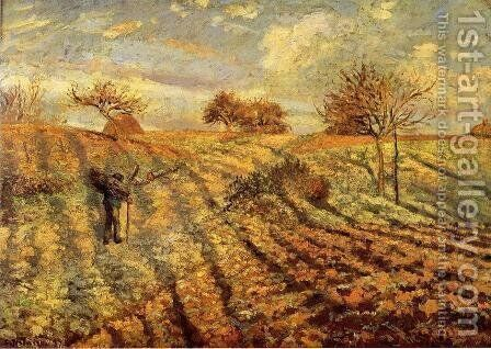 Hoarfrost I by Camille Pissarro - Reproduction Oil Painting
