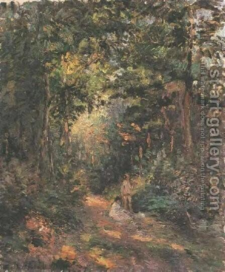 Autumn by Camille Pissarro - Reproduction Oil Painting