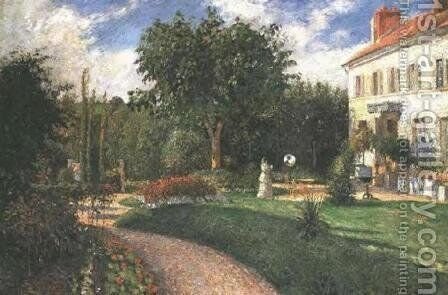Garden of Les Mathurins by Camille Pissarro - Reproduction Oil Painting
