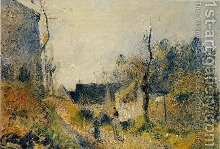 Landscape at Valhermeil by Camille Pissarro - Reproduction Oil Painting