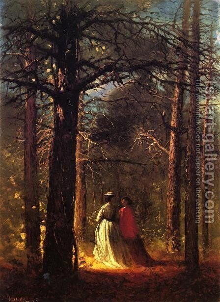 Waverly Oaks by Winslow Homer - Reproduction Oil Painting