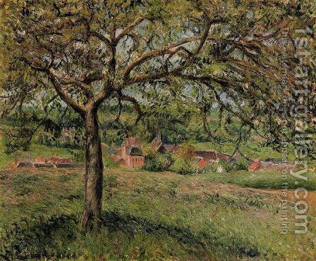 Apple Tree at Eragny by Camille Pissarro - Reproduction Oil Painting