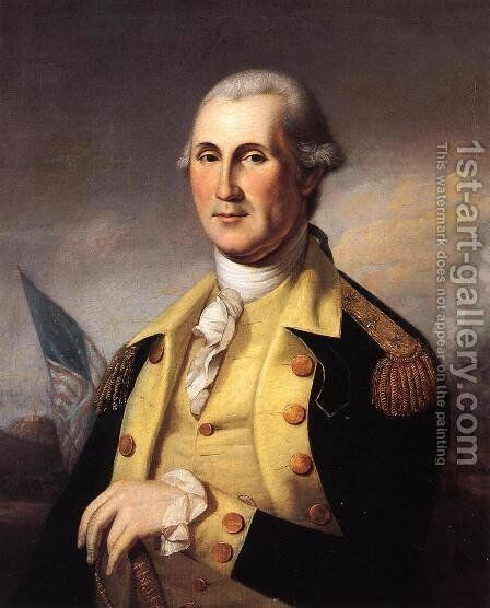 George Washington by James Peale - Reproduction Oil Painting