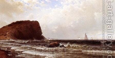 Whitehead, Casco Bay by Alfred Thompson Bricher - Reproduction Oil Painting