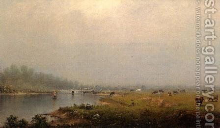 Rising Mist by Alexander Helwig Wyant - Reproduction Oil Painting