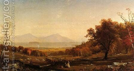 Lake George from Bolton by Alfred Thompson Bricher - Reproduction Oil Painting