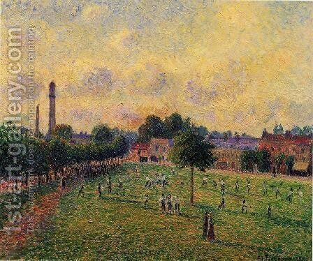 Kew Gardens by Camille Pissarro - Reproduction Oil Painting