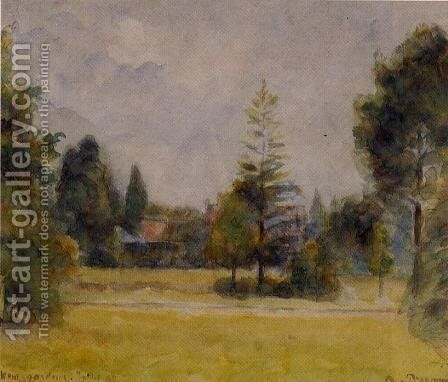 Kew Gardens I by Camille Pissarro - Reproduction Oil Painting