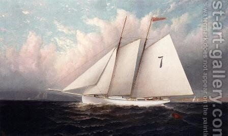 Centennial Polot Boat #7 by Elisha (Taylor) Baker - Reproduction Oil Painting