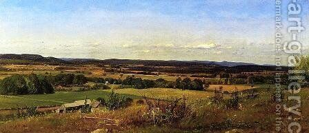 New Hamshire Landscape by James McDougal Hart - Reproduction Oil Painting