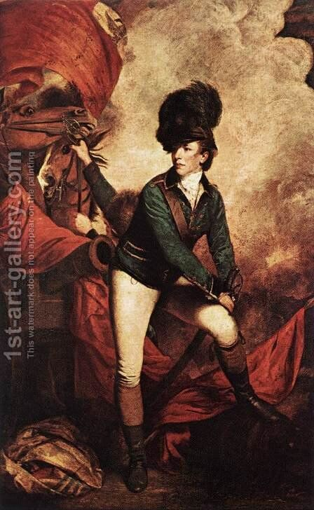 Colonel Banastre Tarleton by Sir Joshua Reynolds - Reproduction Oil Painting