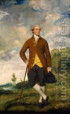 John Musters by Sir Joshua Reynolds - Reproduction Oil Painting