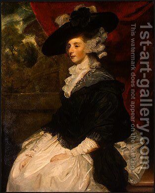 Lady Cornewall by Sir Joshua Reynolds - Reproduction Oil Painting