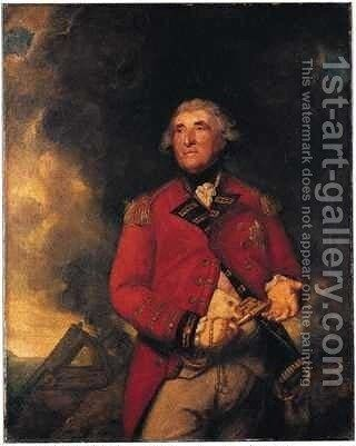 Lord Heathfield of Gibraltar by Sir Joshua Reynolds - Reproduction Oil Painting