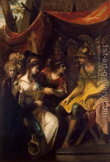 The Continence of Scipio by Sir Joshua Reynolds - Reproduction Oil Painting