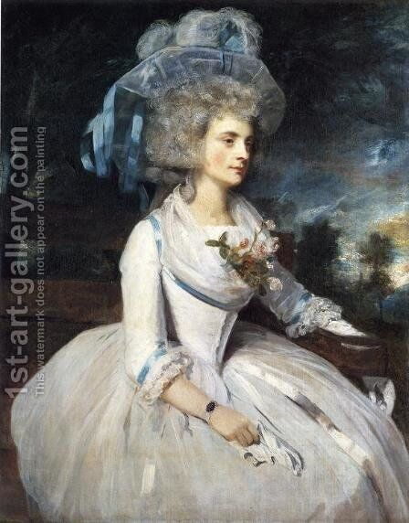 Lady Skipwith by Sir Joshua Reynolds - Reproduction Oil Painting