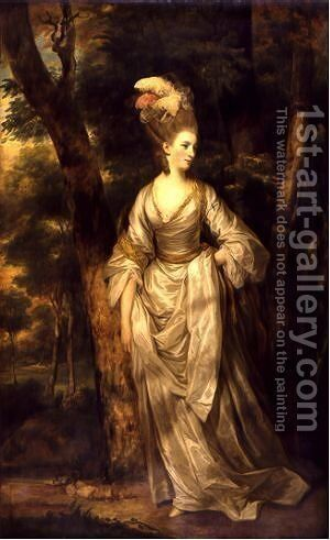 Mrs Elizabeth Carnac by Sir Joshua Reynolds - Reproduction Oil Painting