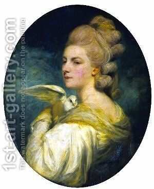 Mrs. Mary Nesbitt by Sir Joshua Reynolds - Reproduction Oil Painting