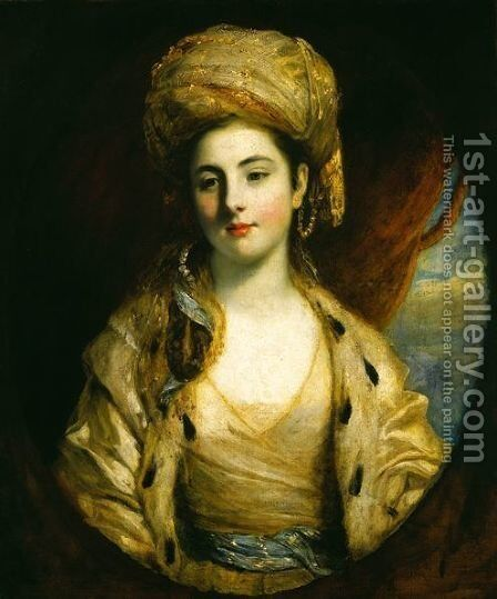 Mrs. Richard Paul Jodrell by Sir Joshua Reynolds - Reproduction Oil Painting