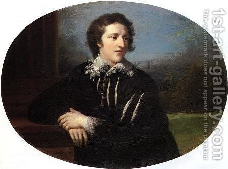 Mr. John Williams by Benjamin West - Reproduction Oil Painting