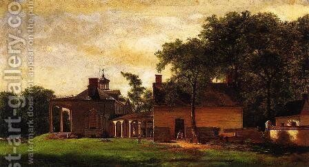 The Old Mount Vernon by Eastman Johnson - Reproduction Oil Painting