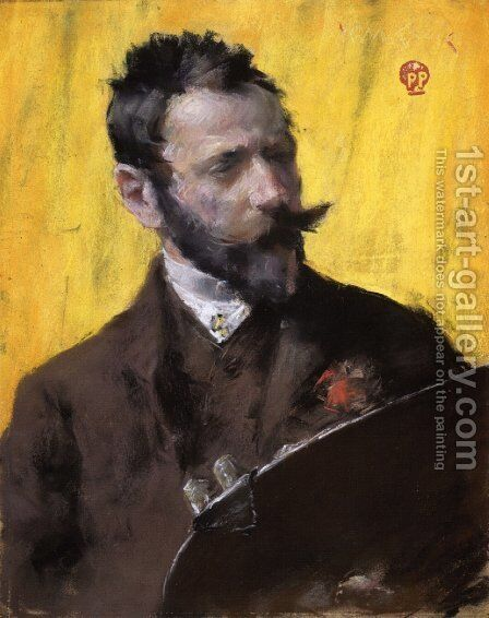 Self Portrait I by William Merritt Chase - Reproduction Oil Painting