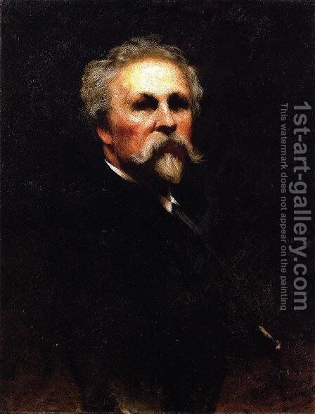 Self Portrait II by Eastman Johnson - Reproduction Oil Painting