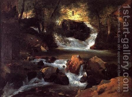 The Water Mill by Henry John Yeend King - Reproduction Oil Painting