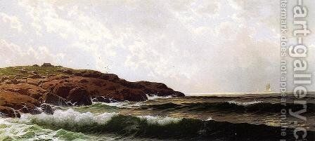 Morning at Sakonnet, Rhode Island by Alfred Thompson Bricher - Reproduction Oil Painting