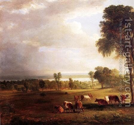 Gathering Storm by Asher Brown Durand - Reproduction Oil Painting