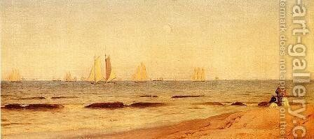 Sandy Hook by Alfred Thompson Bricher - Reproduction Oil Painting