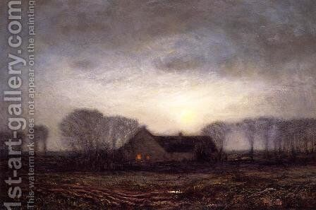 Night, New England by Dwight William Tryon - Reproduction Oil Painting