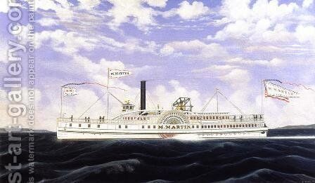 The Milton Martin by James Bard - Reproduction Oil Painting