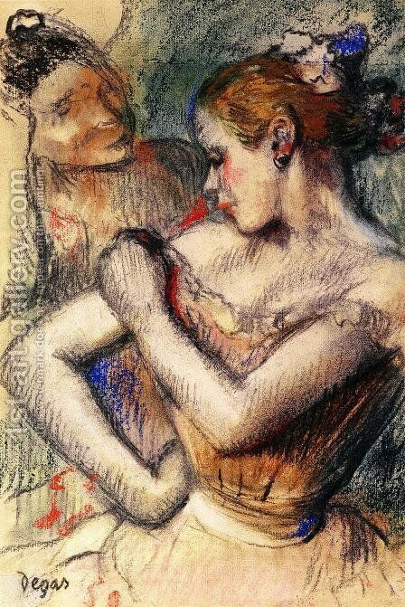 Dancer IV by Edgar Degas - Reproduction Oil Painting