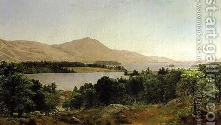 Lake George by Asher Brown Durand - Reproduction Oil Painting