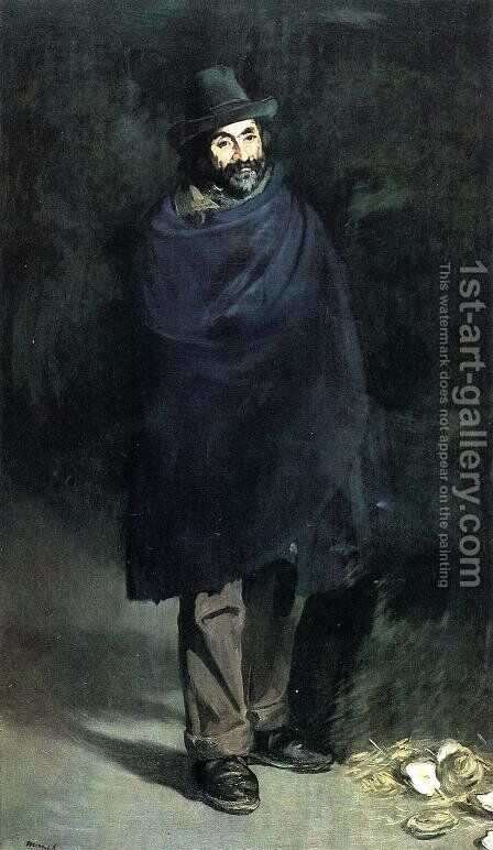 The Philosopher by Edouard Manet - Reproduction Oil Painting