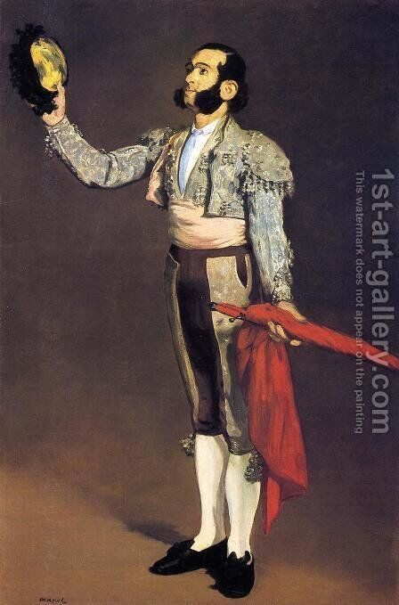 A Matador by Edouard Manet - Reproduction Oil Painting