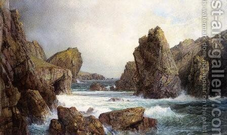 Rocky Inlet by William Trost Richards - Reproduction Oil Painting